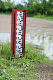Water level indicator Stock Photo