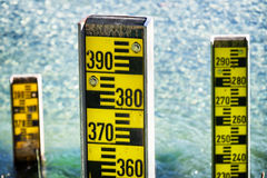 Water level indicator Royalty Free Stock Images