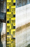 Water level indicator Royalty Free Stock Photos