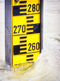 Water level indicators Stock Photography