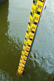 Water Level Gauge. Stock Images