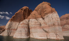 Water Levels at Lake Powell Stock Images