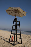 Water lifeguard stand Stock Photography