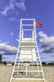 Water lifeguard stand Royalty Free Stock Image