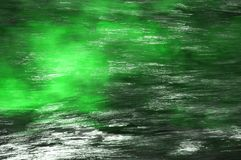 Water and light bright forest green abstract backg. Round Royalty Free Stock Photography