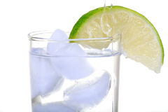 Water and lime Stock Photos