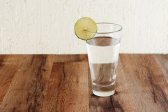 Water with lime Stock Image