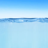 Water line Royalty Free Stock Image