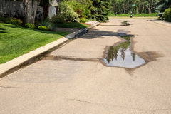 Water Loss with Sprinkler Irrigation Stock Photos