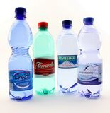 Water made ​​in Italy Royalty Free Stock Photography