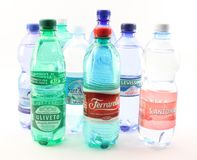 Water made in Italy Stock Photos
