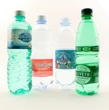 Water made ​​in Italy Stock Photography