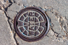 Water Main Cover Stock Photography