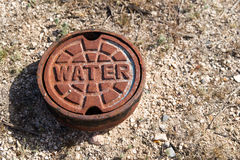 Water Main Cover Royalty Free Stock Photography