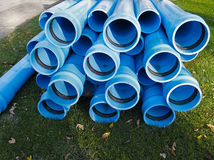 Water mains repair Royalty Free Stock Images