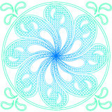 Water mandala ornament Stock Photos