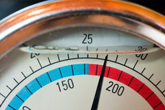 Water manometer Stock Image