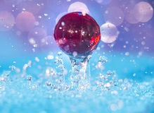 Water and Marbles Royalty Free Stock Image