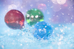 Water and Marbles Royalty Free Stock Photos