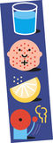 Water measles lemon alarm. Illustration about home remedies to cure measles or chicken pox Stock Photo