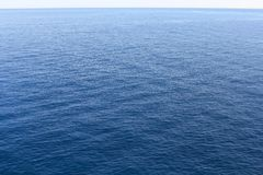 Water in the Mediterranean See Royalty Free Stock Images