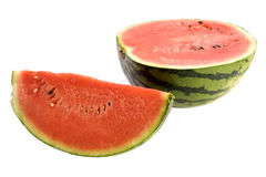 Water melon. Of the withe background Stock Photography