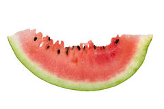 Water-melon. Slice of water-melon on white background Stock Image