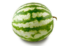 Water-melon. Is photographed on the white background Stock Photos