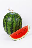 Water melon. In white back ground Stock Photography