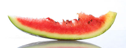 Water Melon. Sliced water melon with seeds Royalty Free Stock Photography