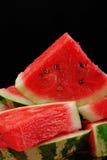Water-melon 6. Water-melon on dark background Stock Photos