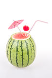 Water melon as a drink Stock Photo