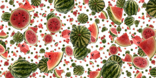 Water Melon background (on white) royalty free stock photography