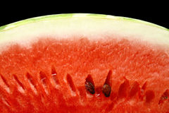 Water-melon close up Stock Photography