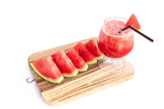 Water melon cocktail Stock Photo