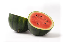 Water melon cut half Royalty Free Stock Image
