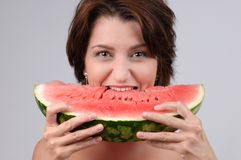 Water-melon diet Royalty Free Stock Images