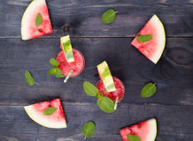 Water-melon drink Stock Images