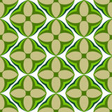 Water-melon flowers, abstract  seamless pattern. Royalty Free Stock Photos