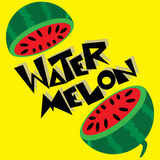 Water Melon  illustration Royalty Free Stock Photo