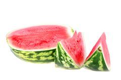 Water-melon isolated Royalty Free Stock Photos