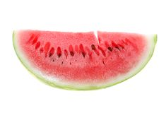 Water-melon isolated Royalty Free Stock Photo