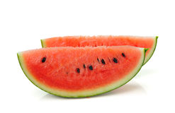 Water melon isolated on white Stock Images