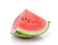 Water melon isolated on white Stock Image