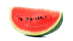 Water melon isolated on the white background Royalty Free Stock Photo