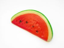 Water melon from marzipan stock photos
