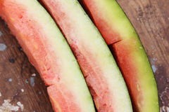 Water melon peel Stock Images