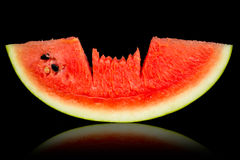 Water melon red. Water melon is red color of freshy Stock Photography
