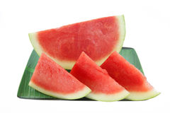 Water melon slice. Watermelon slice is delicious when eaten thirst Stock Photography