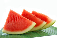 Water melon slice Stock Photos